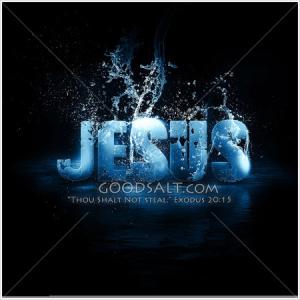 Jesus splash