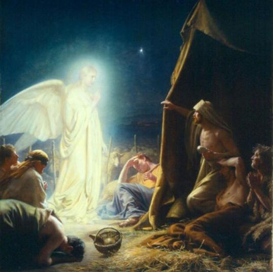 angels-before-shepherds